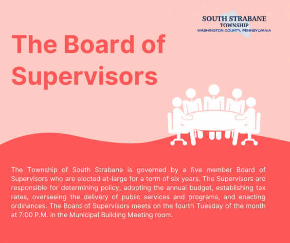Board of Supervisors Infographic