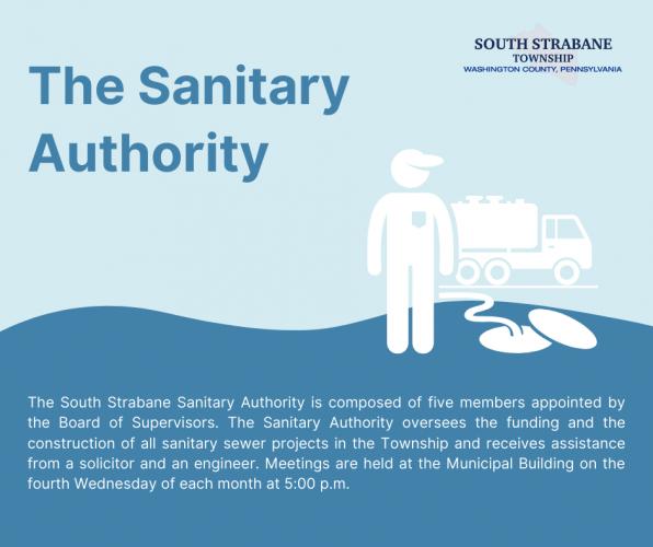Sanitary Authority Infographic